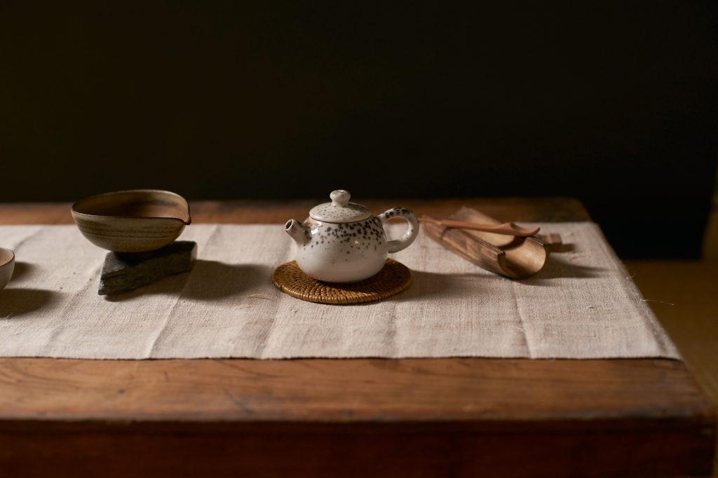 Thé théière maison de thé céramique